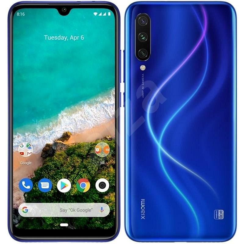 Xiaomi Mi A3 LTE 128GB modrá - Mobilní telefon