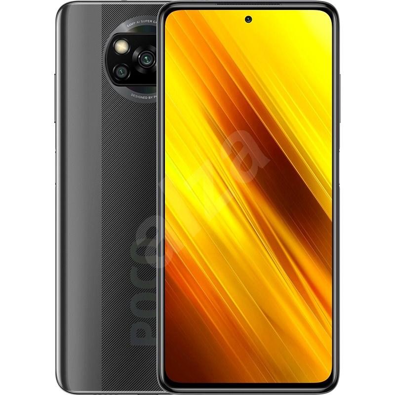 Xiaomi POCO X3 128GB šedá - Mobilní telefon