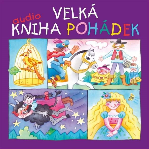 Velká audiokniha pohádek (Komplet 7 alb) - Božena Němcová