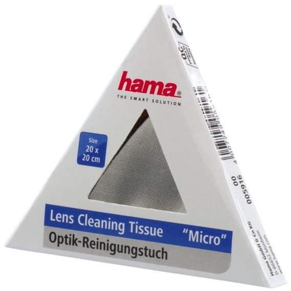 Hama utěrka MICRO OPTIC-CLEANER - Čisticí utěrka