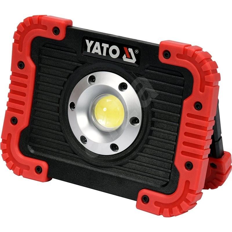 Yato Nabíjecí COB LED 10W svítilna a powerbanka - LED svítilna