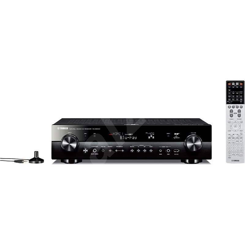 YAMAHA RX-S600 černý - AV receiver