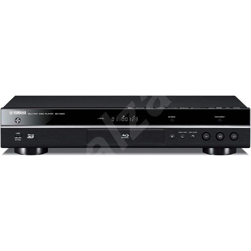 YAMAHA BD-S681 černý - Blu-Ray přehrávač