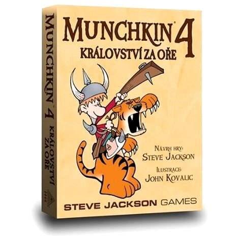 Munchkin 4. rozšíření – Království za oře - Rozšíření karetní hry