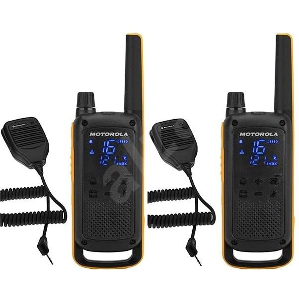 Motorola TLKR T82 Extreme, RSM Pack, yellow/black - Walkie Talkie