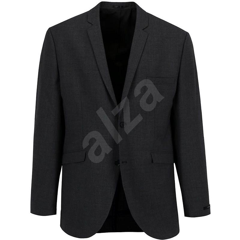 JACK & JONES Tmavě šedé sako s příměsí vlny Premium Wayne XS - Bunda
