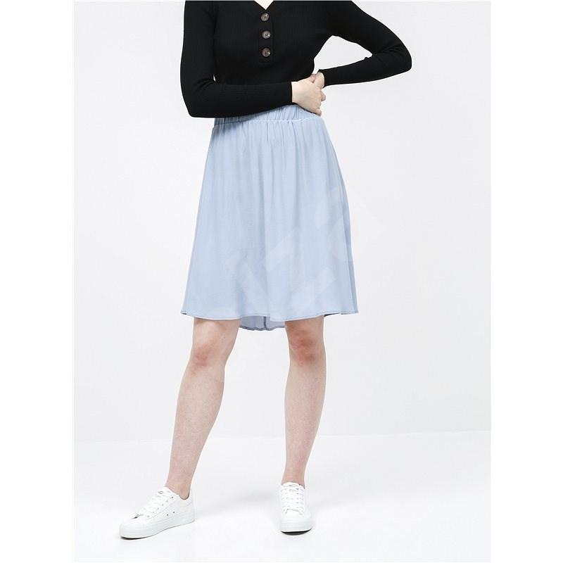 VILA Světle modrá sukně Primera  XL - Sukně