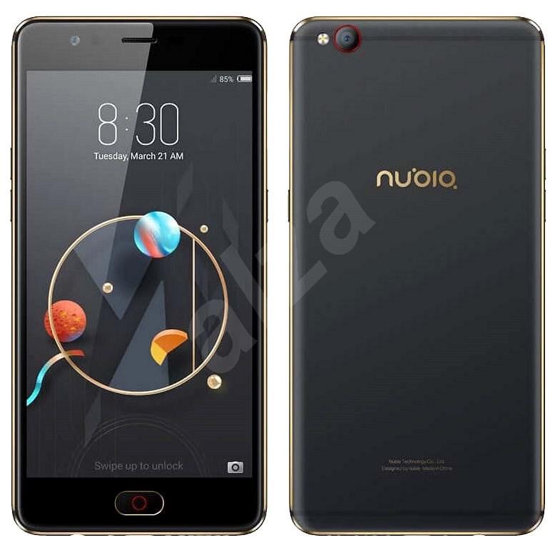 Nubia M2 Lite Black Gold 32GB - Mobilní telefon