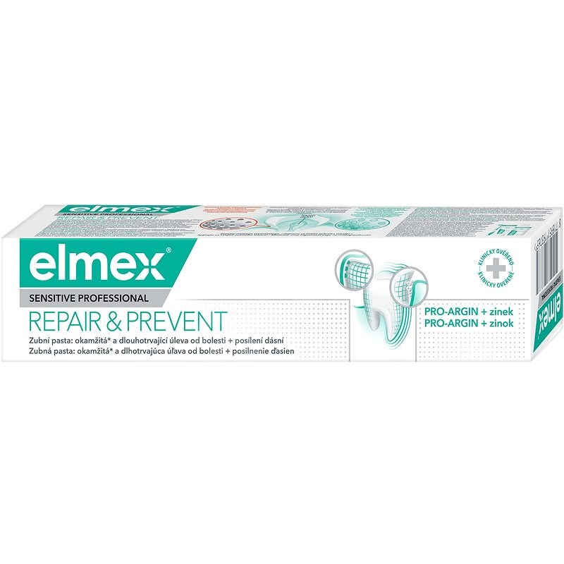 ELMEX Sensitive Professional Repair & Prevent 75 ml - Zubní pasta