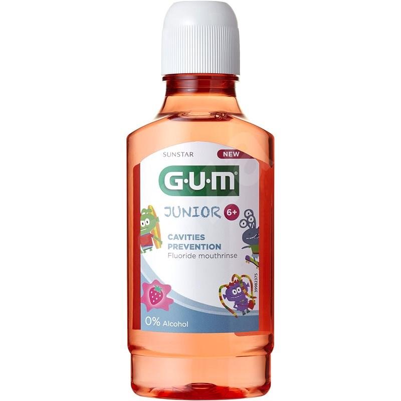 GUM Junior Cavities Prevention Fluorid 300 ml - Ústní voda