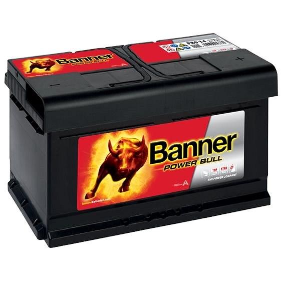 BANNER Power Bull 80Ah, 12V, P80 14 - Autobaterie
