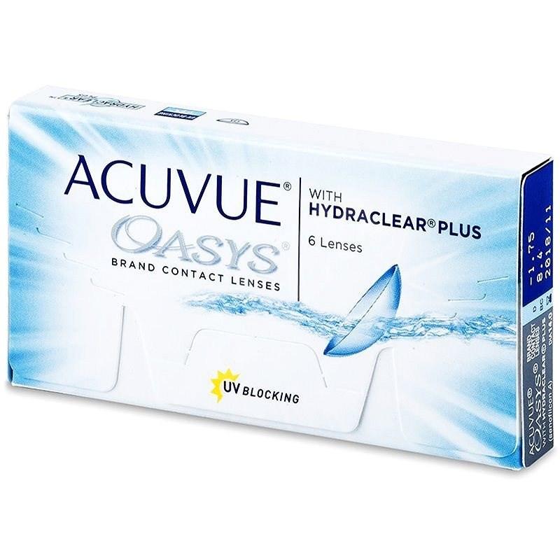 Acuvue Oasys with Hydraclear Plus (6 čoček) dioptrie: -2.50, zakřivení: 8.40 - Kontaktní čočky
