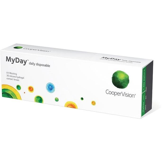 MyDay Daily Disposable (30 čoček) dioptrie: -5.50 zakřivení: 8.4 - Kontaktní čočky