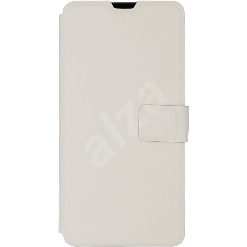 iWill Book PU Leather Case pro Samsung Galaxy A10 White - Pouzdro na mobil