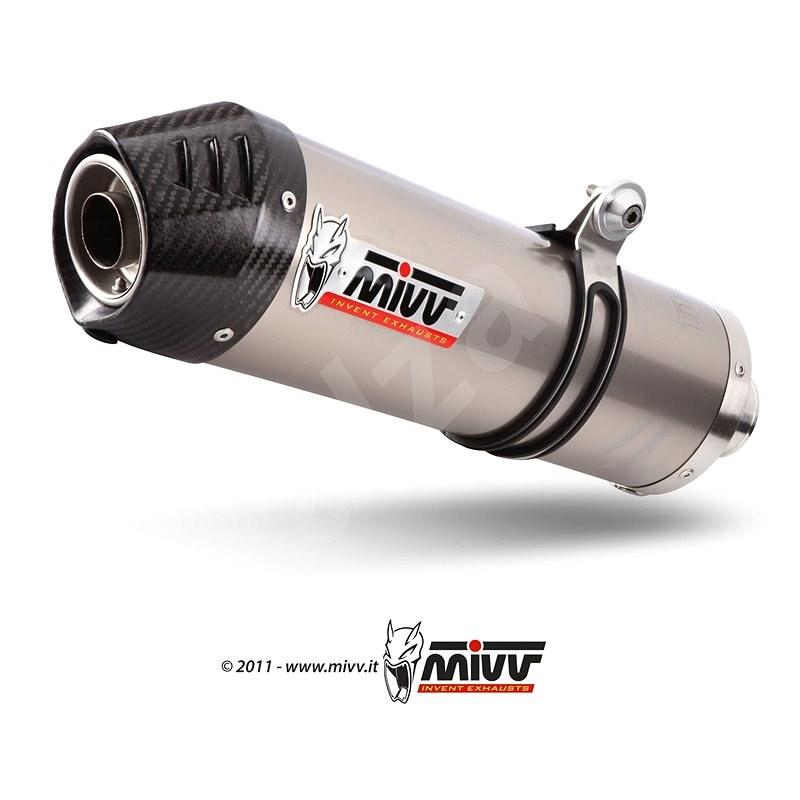 Mivv Oval Titanium / Carbon Cap pro Honda Crossrunner (2015 >) - Koncovka výfuku