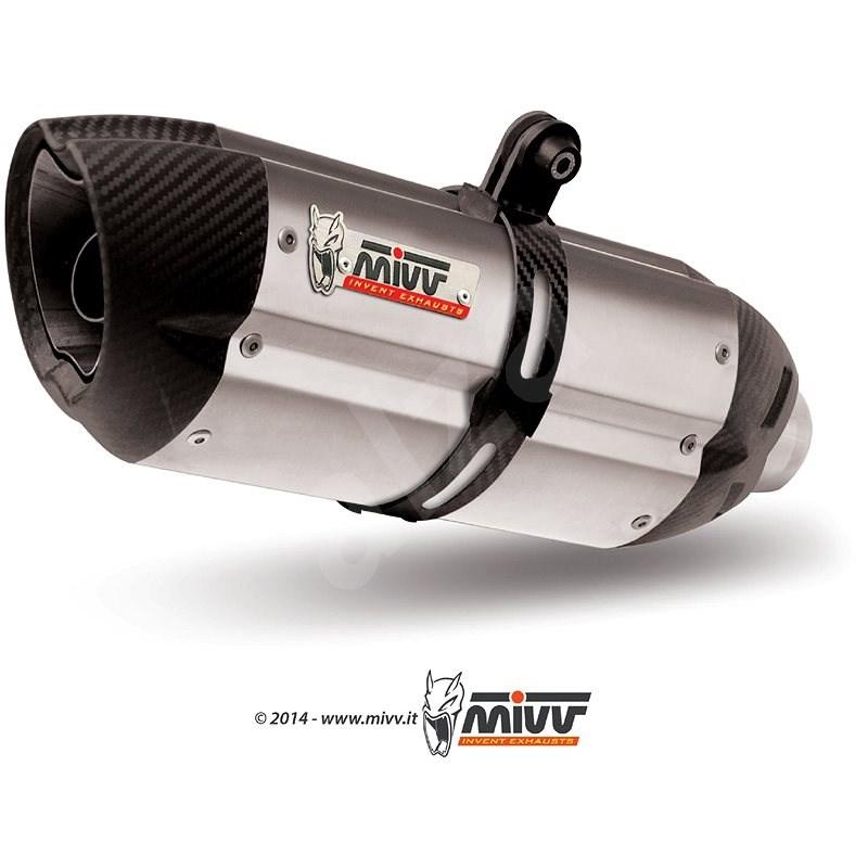 Mivv Suono Stainless Steel / Carbon Cap pro Honda CBR 600 RR (2007 > 2012) - Koncovka výfuku