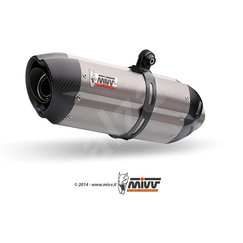 Mivv Suono Full Titanium / Carbon Cap pro Yamaha FZ1 / FZ1 Fazer (2006 > 2016) - Koncovka výfuku