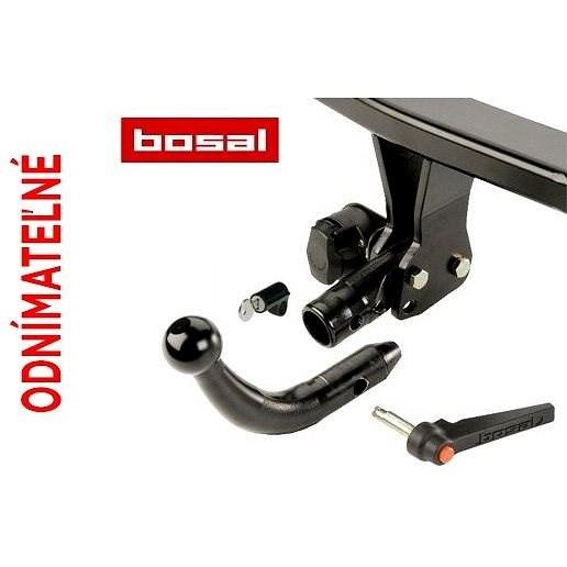 BOSAL Tažné zařízení Toyota Yaris , 50-539, 2011-2014 - Tažné zařízení