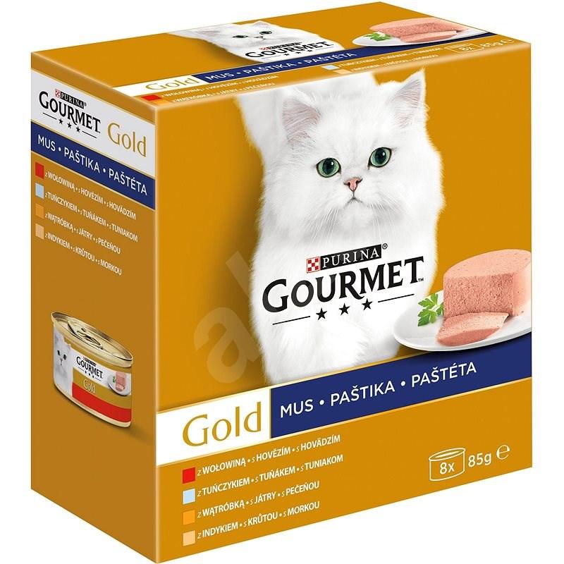Gourmet gold (8 × 85 g) - pâtés - Shelter Contribution