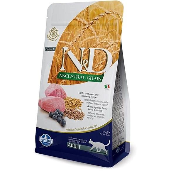 N& D low grain cat adult lamb & blueberry 1.5 kg - Shelter Contribution