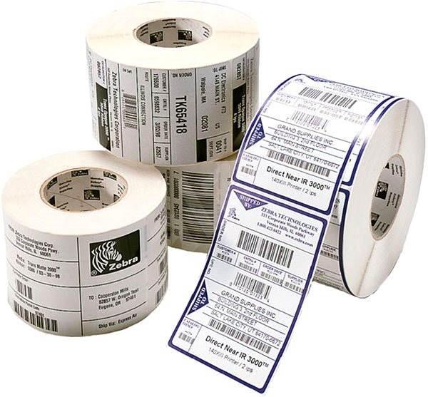 Zebra nalepovací štítky 102x152 - Etikety