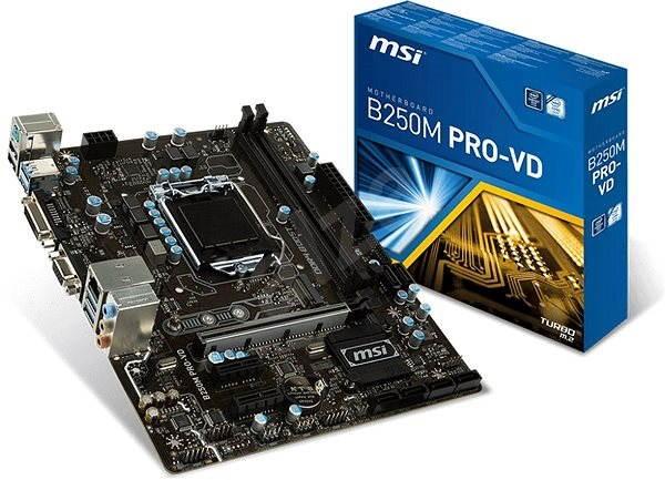 MSI B250M PRO-VD - Základní deska