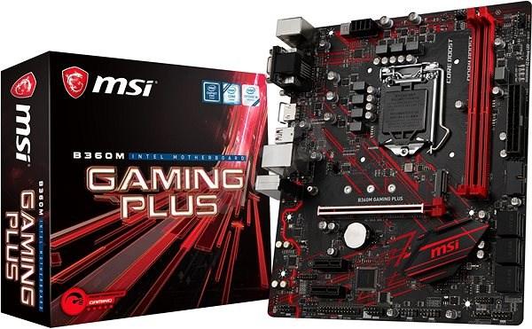 MSI B360M GAMING PLUS - Základní deska