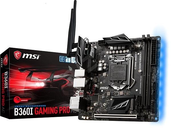 MSI B360I GAMING PRO AC - Základní deska