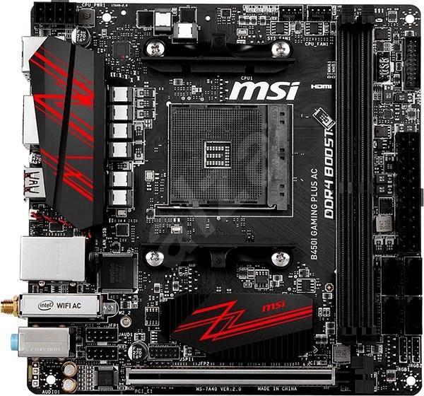 MSI B450I GAMING PLUS AC - Základní deska