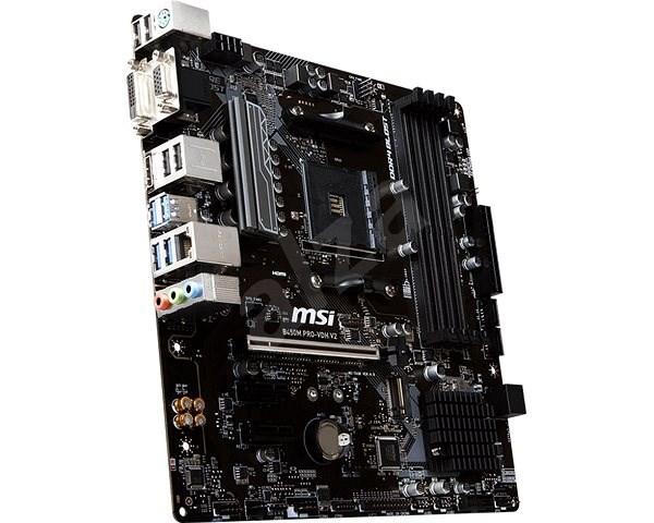 MSI B450M PRO-VDH V2 - Základní deska