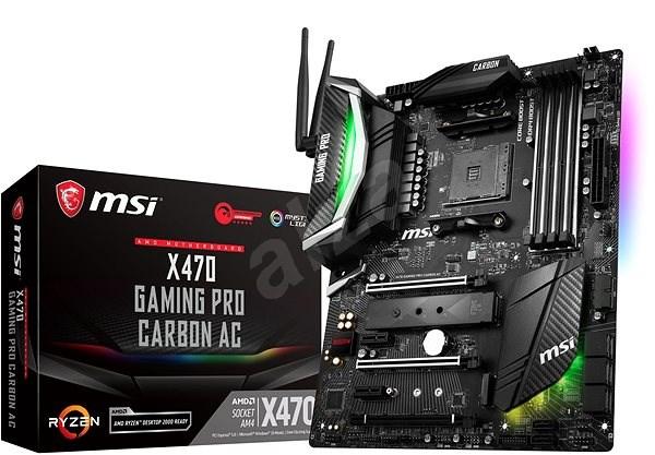 MSI X470 GAMING PRO CARBON AC - Základní deska