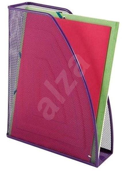 ALBA A4/24x32 purpurový - Stojan na časopisy