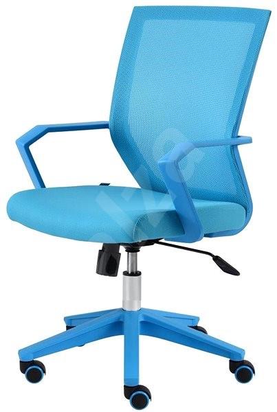 9b0f72d99222 ALBA Merci modrá - Kancelářská židle