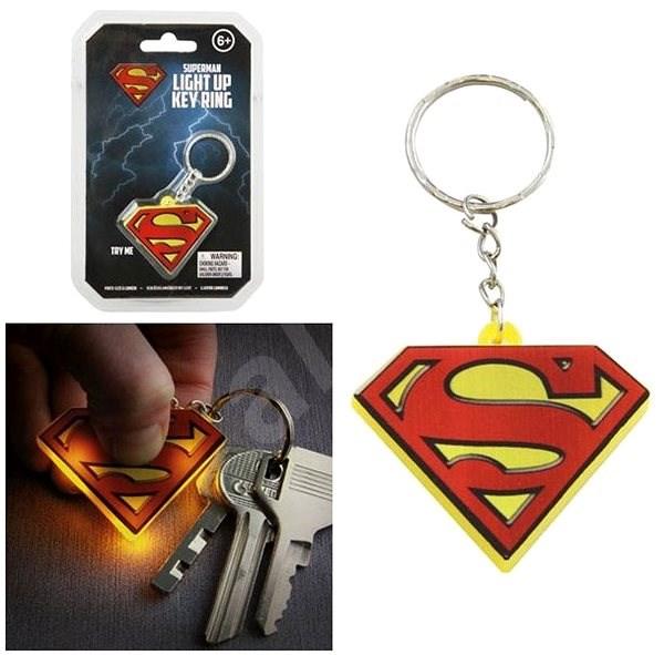 DC COMICS Superman - svítící klíčenka - Klíčenka  70f674c915