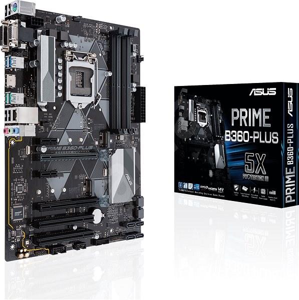 ASUS PRIME B360-PLUS - Základní deska