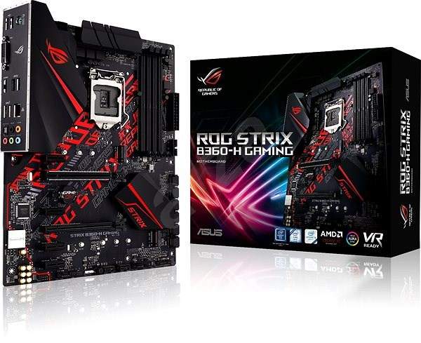 ASUS ROG STRIX B360-H GAMING - Základní deska
