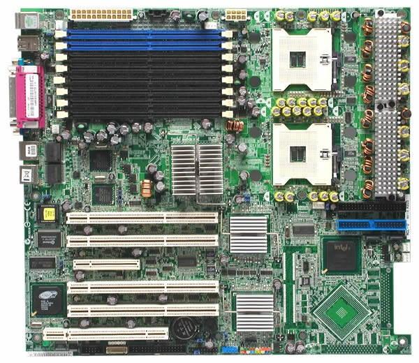ASUS NCL-D iE7520/ICH5R, DualCh DDR2 400 ECC, int. VGA, SATA, USB2.0, 2xGLAN, dual sc604 - Základní deska