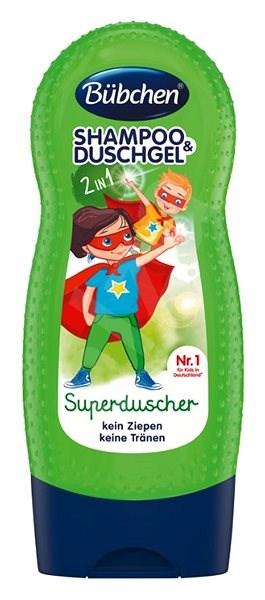 Bübchen Kids SUPERHERO Shampoo and Shower Gel - Children's Shampoo