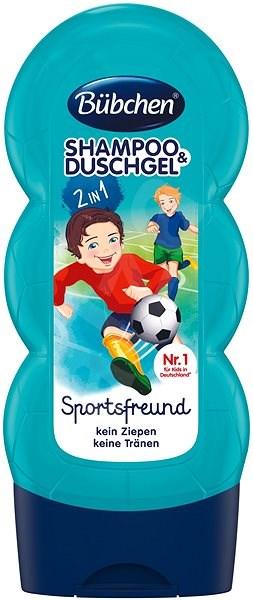 Bübchen Kids SPORT Shampoo and Shower Gel - Children's Shampoo