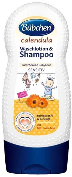 Bübchen Marigold Bath and Shampoo - Children's Shampoo