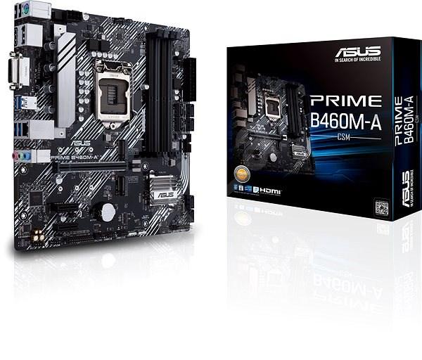 ASUS PRIME B460M-A - Základní deska