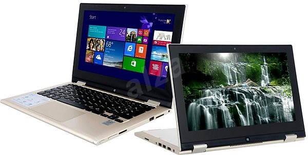 Dell Inspiron 11z Touch zlatý - Tablet PC
