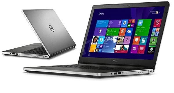 Dell Inspiron 15 (5558) stříbrný - Notebook