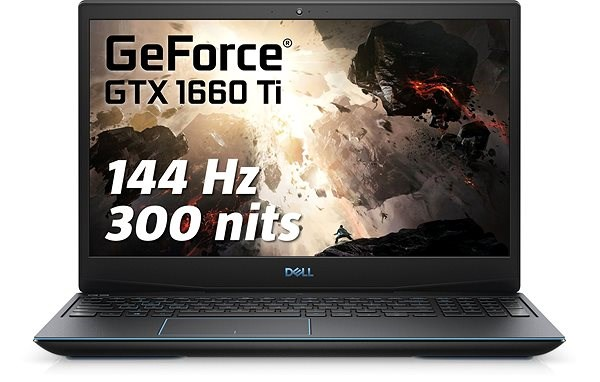 Dell G3 15 Gaming (3590) Black - Herní notebook