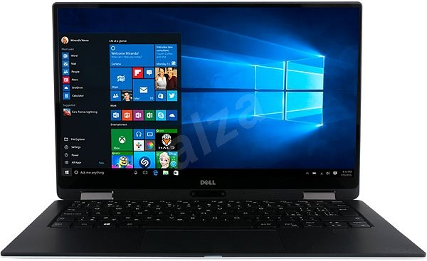 Dell XPS 13 (9365) Touch černý