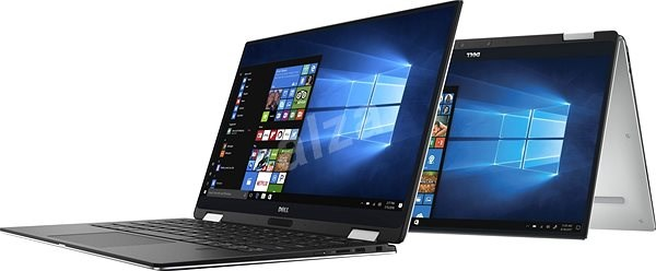 Dell XPS 13 (9365) Touch Silver - Tablet PC