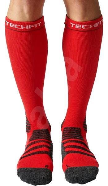 5c86af6ed18 Adidas Kompresní ponožky červeno černé 40-42 - Kompresní ponožky ...