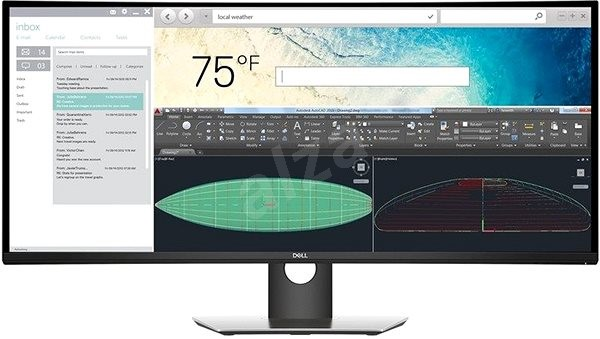 """37.5"""" Dell UltraSharp U3818DW - LCD monitor"""