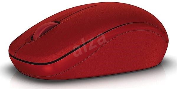 Dell WM126 červená - Myš