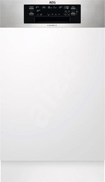 AEG Mastery FEE62400PM - Vestavná myčka úzká